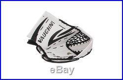 New Vaughn 7490 senior ice hockey goalie catcher glove goal white black sr reg