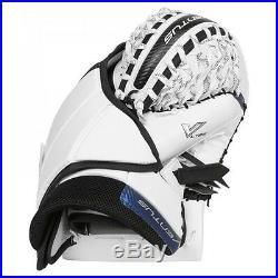 New Vaughn LT88 senior ice hockey goalie catcher glove goal white navy black sr