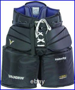 New Vaughn V6 2000 Sr. Large Goalie Pants senior Velocity ice hockey goal black