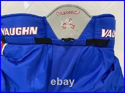 New Vaughn Ventus Lt88 Senior Goalie Pant Montreal Blue -red- White - Large