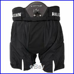 New Vaughn Ventus SLR Pro goalie pants senior medium 34 black Sr ice hockey