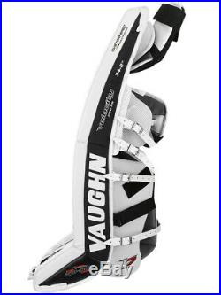 New Vaughn Xr Pro Sr goalie leg pads 32+2 White/Black Velocity V7 senior hockey