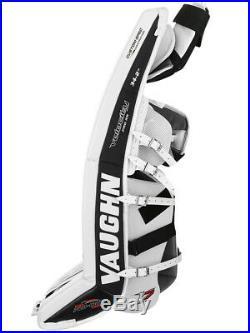 New Vaughn Xr Pro Sr goalie leg pads 34+2 White/Black Velocity V7 senior hockey