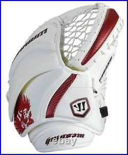 New Warrior Messiah Pro Hockey Goalie Blocker Catcher Set Senior SR Glove Black