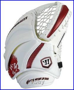 New Warrior Messiah Pro Hockey Goalie Blocker Catcher Set Senior SR Glove Red