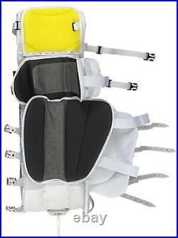 New Warrior Messiah Pro goalie leg pads white/black 36+1 ice hockey senior goal