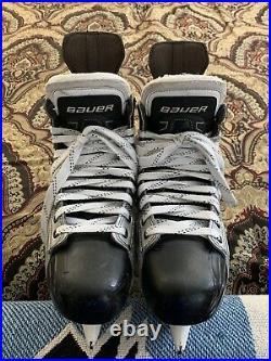 Nice Pro Return Bauer Vapor 1x Skates W TUUK Custom Plus Holders Senior 10.5D