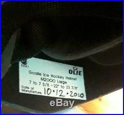 Olie Goalie mask helmet Ringette ice hockey Senior Large M2000