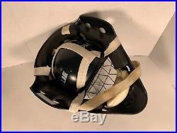 Olie Goalie mask helmet Ringette ice hockey Senior Large M2000 BLACK