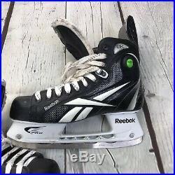Rebook 8K Pro Stock Pump Ice Hockey Skates Size 9.5 D Senior
