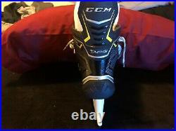 Senior CCM Tacks 9060 Hockey Skates D&R (Regular) Size 7.5 with Superfeet Inserts