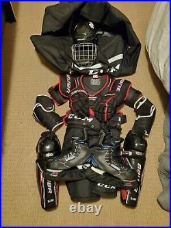 Senior SR Ice Hockey Protective Gear Kit Set Adult Equipment