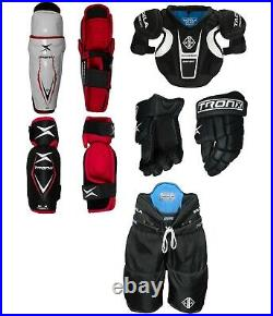 Senior SR Ice Hockey Protective Gear Kit Set Adult Equipment Package Brand New