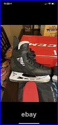 True Pro Custom Senior Hockey Skates Sz 7.5 D MSRP $975