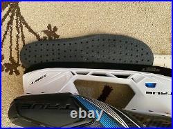 True TF9 Hockey Skates 9.5 Regular fits like skate size 10 for shoe size 11.5