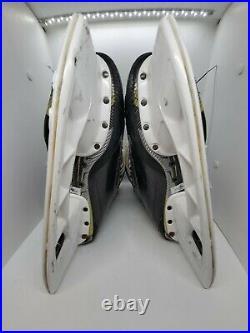 Used Bauer Supreme 2S Pro Stock Skates Size 9 3/4 D Holder Size 288 no steel