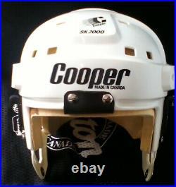 VINTAGE COOPER SK2000 SENIOR ADULT HOCKEY HELMET WHITE Large