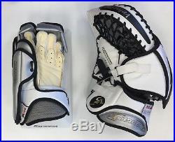 Vaughn 7490 SR ice Hockey Goalie Blocker/Glove set full right Velocity V5 senior