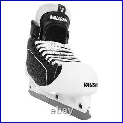 Vaughn GX1 Pro hockey goalie skates senior size 7 black new ice goal skate mens