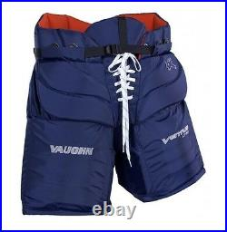 Vaughn Ventus LT90 hockey goalie pants senior size small navy new ice pro goal