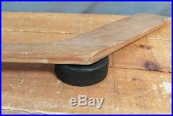 Vintage 1950s Northland Wood Ice Hockey Stick Olympic Right Blade Lie No. 7 54