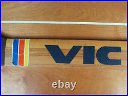 Vintage 1970s Victoriaville Wood Ice Hockey Goalie Stick Canada Great Display