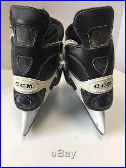 Vintage CCM Pro Tacks Amonte Senior size 7 Mens Ice Hockey Skates Pro Stock