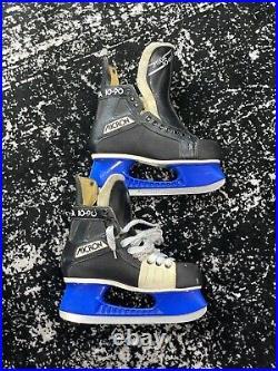Vintage Micron 1090 Skates With Blue Tuuks