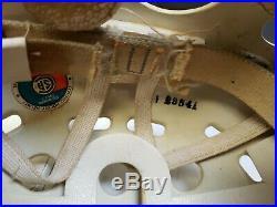 Vintage NORTHLAND ICE HOCKEY HELMET STAN MIKITA MODEL WHITE LOOK RARE SENIOR