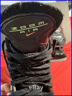 Vintage Nike Air Zoom Hockey Skates Senior Size 10.5 sr vtg rare ice hockey