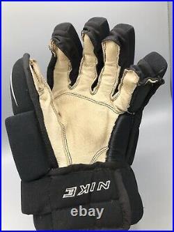 Vintage Nike Ignite 4 Ice Hockey Gloves Senior Regular 13 1/2 Heavily Worn